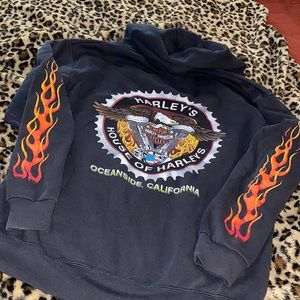 Harley Davidson full zip hoodie